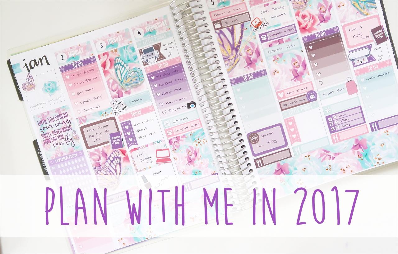 Plan With Me 2017 || LittlePaperPrints (Erin Condren – Vertical)