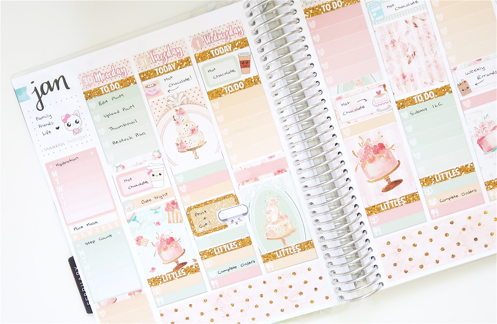 Plan With Me with Sponsored by Coffee // Erin Condren Life Planner