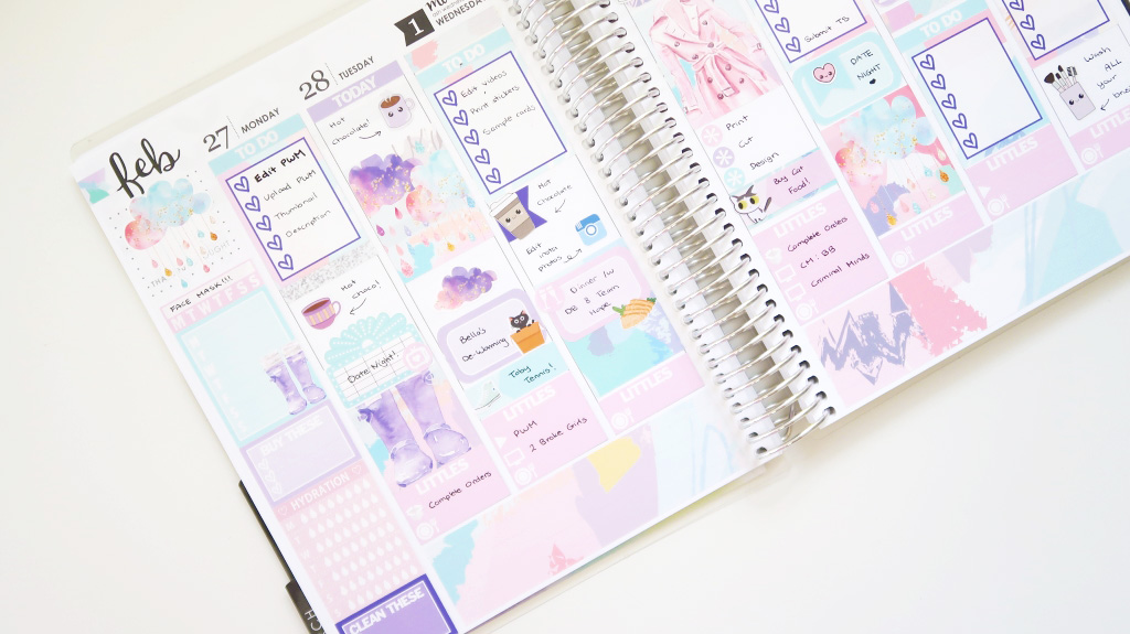 Plan With Me with Glam Planner // Erin Condren Life Planner