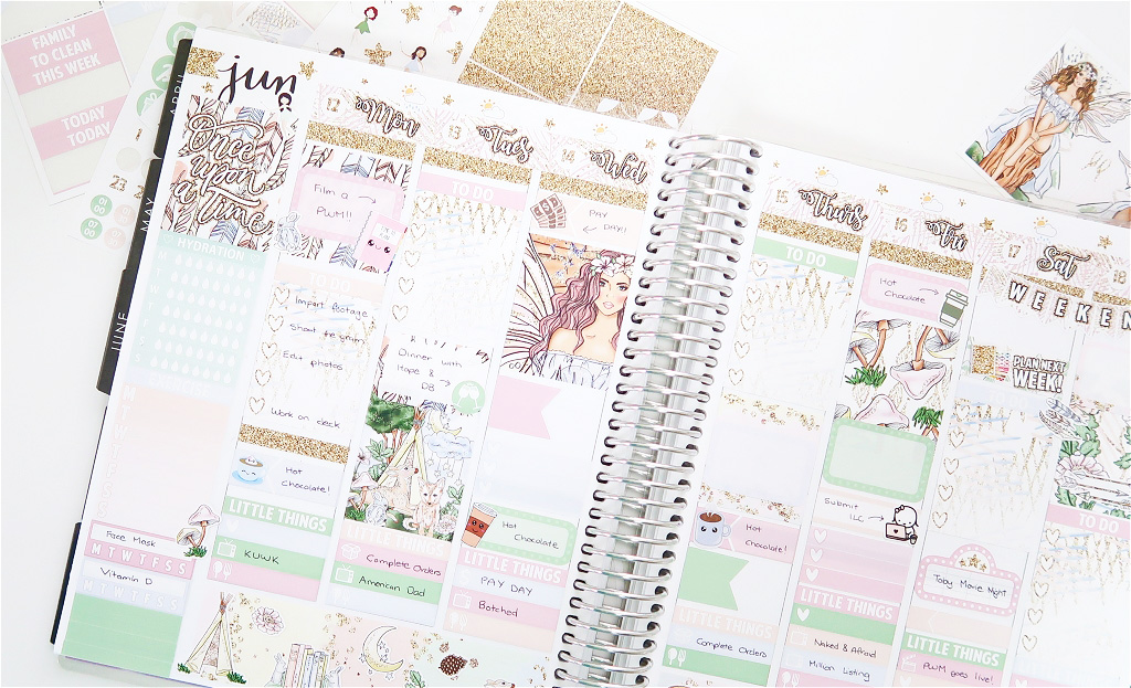 Plan with me with scribble prints co erin condren life for Planner co