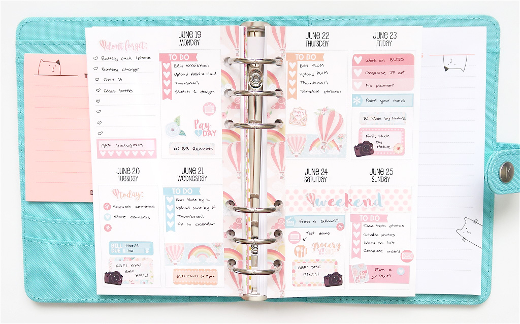 Plan With Me with Paper Rose Planning // Sew Much Crafting