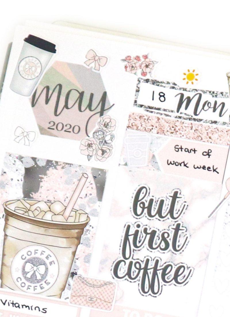 A Quiet Plan With Me in my Erin Condren Life Planner
